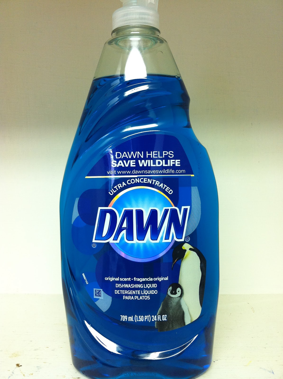 I choose to use the original Dawn because I like to put my dishwashing liquid in a decorative bottle by my kitchen sink. This product is thinner than the Dawn Ultra Concentrated so it flows through my