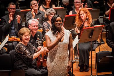 Boito: Mefistofele - Elizabeth Llewellyn - Chelsea Opera Group (photo Robert Workman)