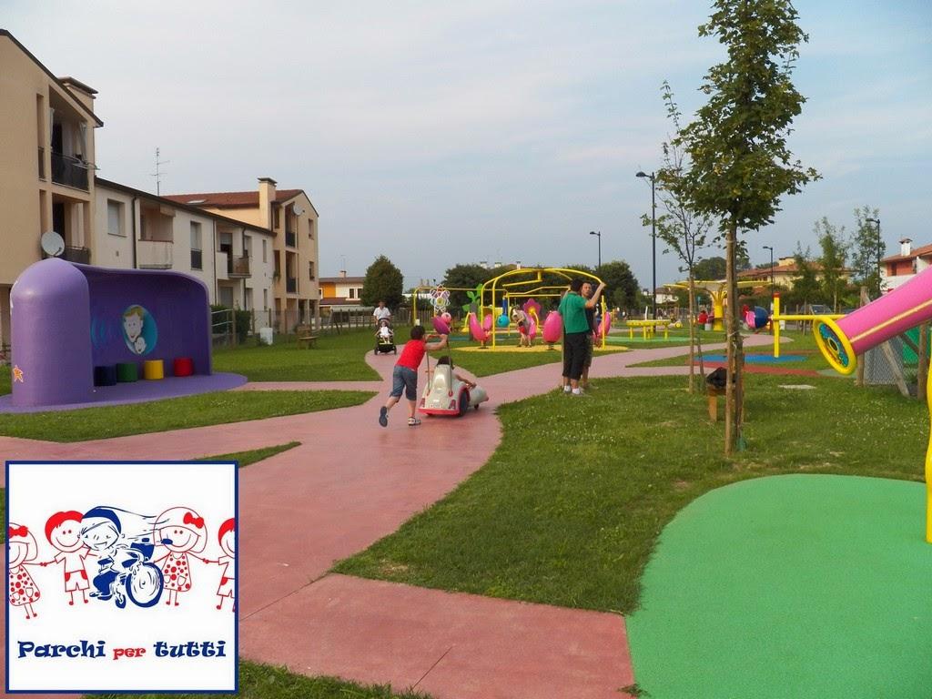La nostra gita al parco giochi inclusivo di Fontaniva