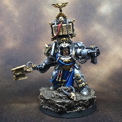 Grey Knights Librarian Front