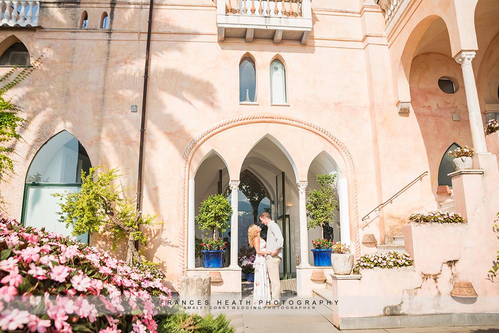 Engagement at Palazzo Avino on the Vimini Terrace
