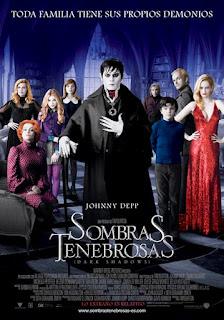 Sombras Tenebrosas - Cartel