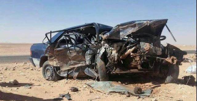 حادث مروري اليم يخلف ضحايا بالطريق الرابط بين ولايتي السمارة وبوجدور