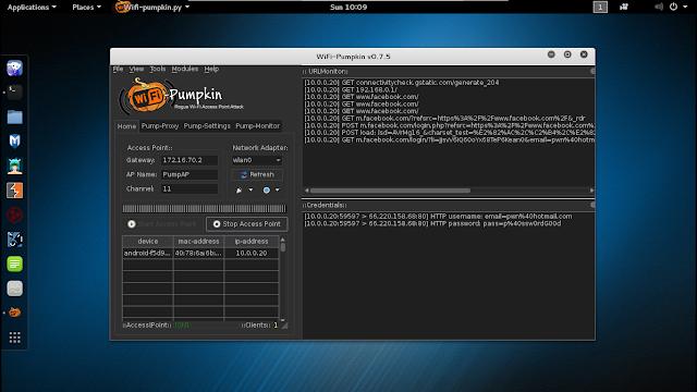 WiFi-Pumpkin v0.8.1 - Framework for Rogue Wi-Fi Access Point Attack