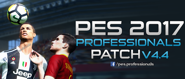 PES 2017 PES Professionals Patch V4.4 Released 22/7/2018