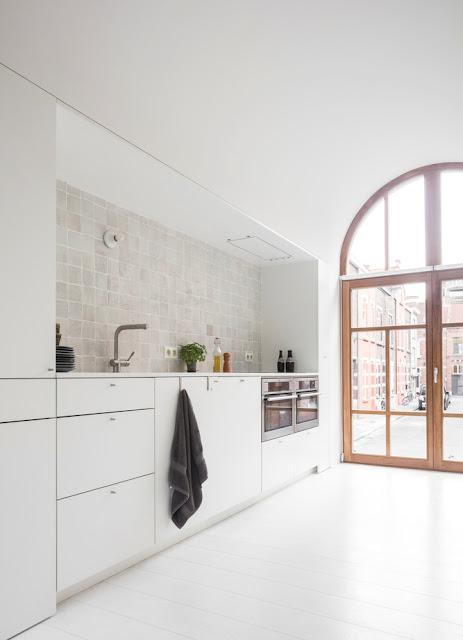 Дизайн-проекты. Современный дом с фасадом 19 века в Генте