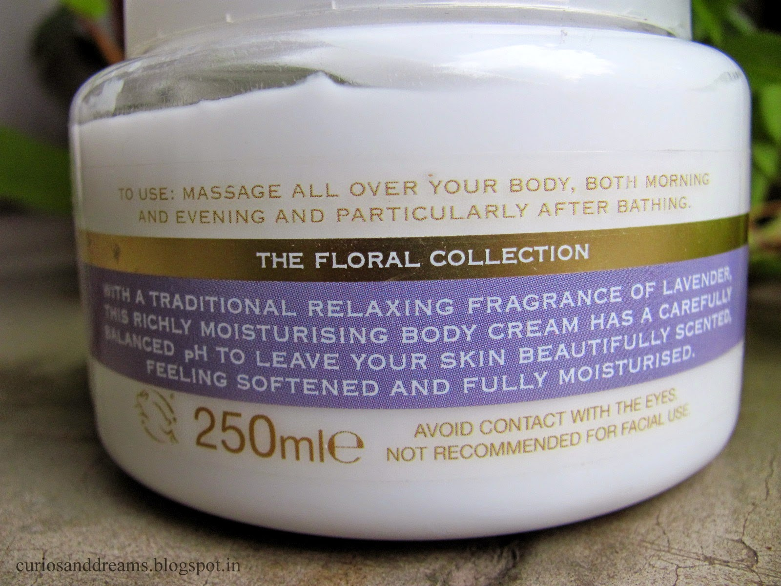 Marks & Spencer Lavender Moisturising Body Cream Review, Marks & Spencer Lavender cream review