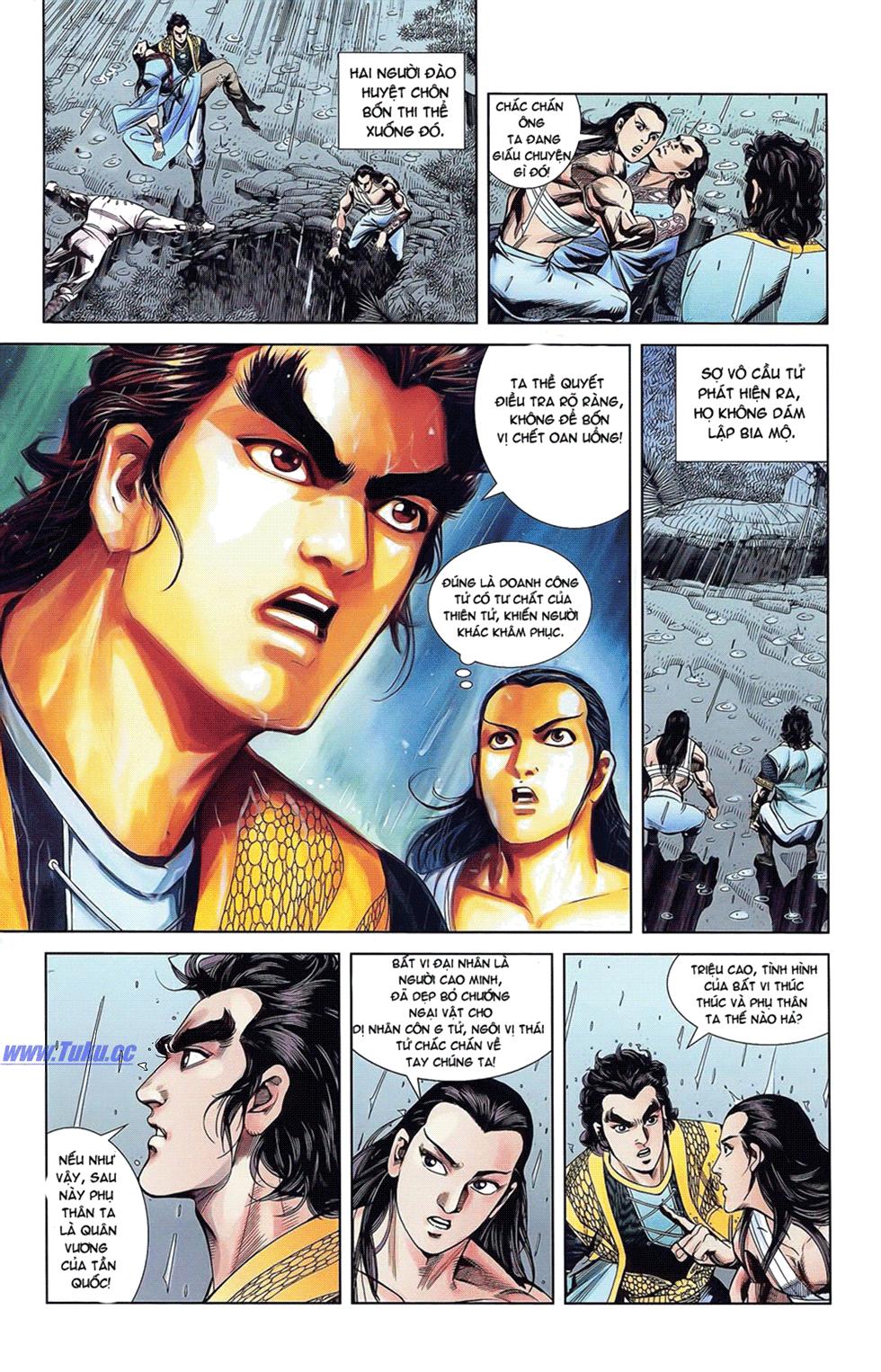 Tần Vương Doanh Chính chapter 18 trang 9