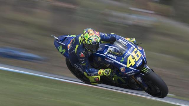 Rossi Absen di Misano, Yamaha Tak Pakai Pebalap Pengganti