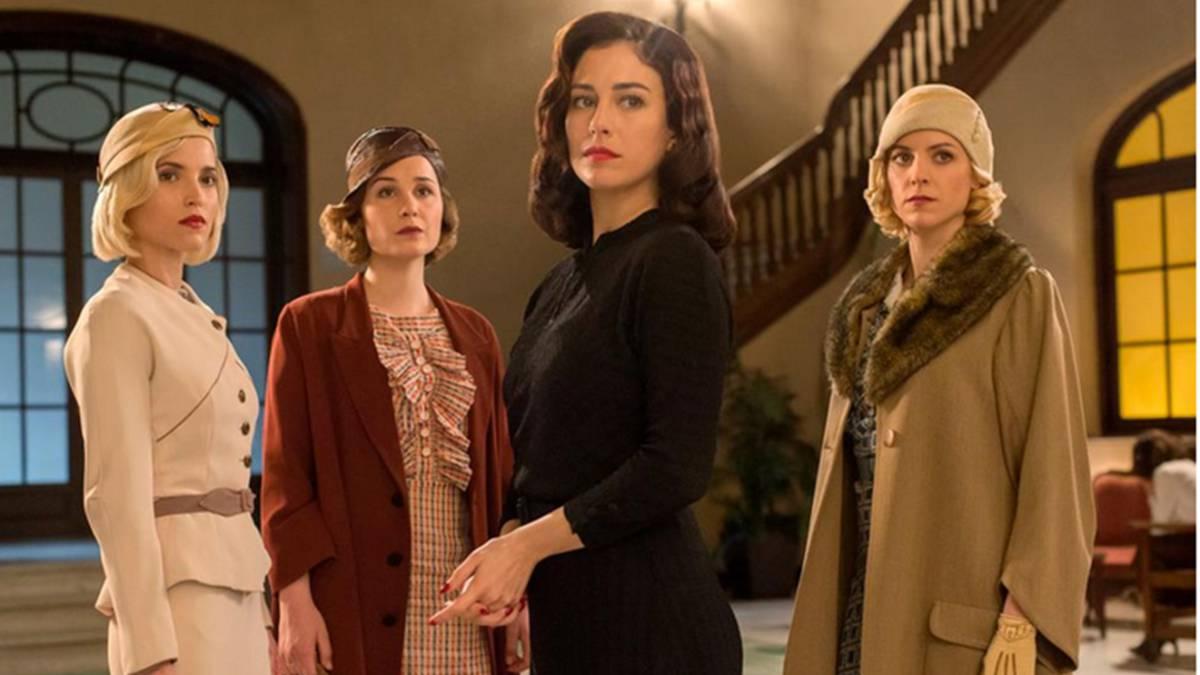 Las protagonistas de 'Las Chicas del Cable' de Netflix España