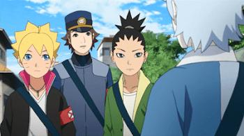 Boruto - Naruto The Next Generatión Capítulo 10: Comienza la investigación del caso del Ghost