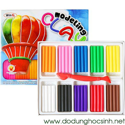 Sáp nặn 10 màu D-10 (WinQ)