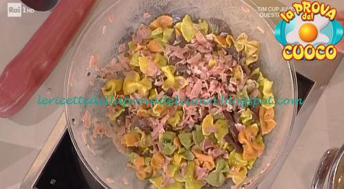 Strichetti variegati con prosciutto e salvia ricetta Spisni da Prova del Cuoco