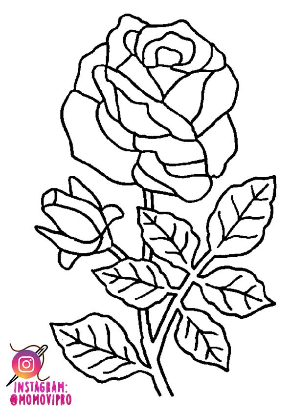 patrones bordado rosas   tutorial parches