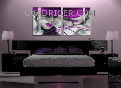 http://www.cuadricer.com/cuadro-moderno-vintage-retro-morado-figura-1019.html