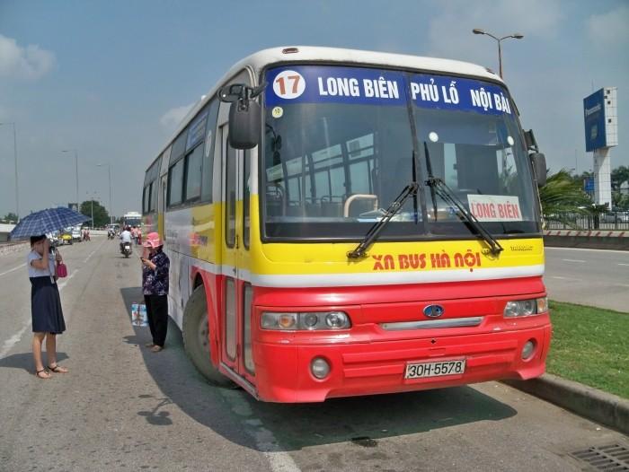Hanoi airport bus 17