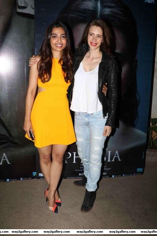 Kalki Koechlin attended the screening of Radhika Aptes latest release Phobia