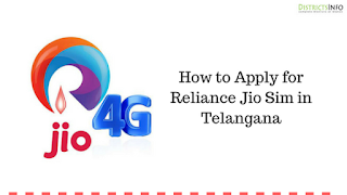 How to Apply for Reliance Jio Sim in Telangana