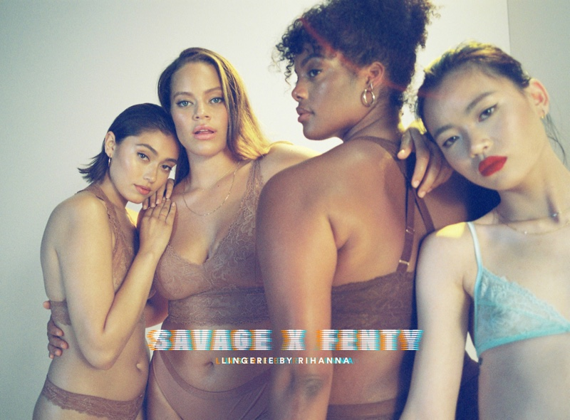 Savage x Fenty Lingerie by Rihanna unveils Basics campaign