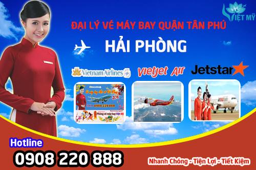 Đặt vé máy bay đi Hải Phòng quận Tân Phú