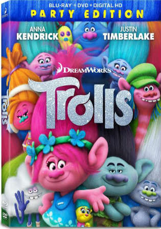 Trolls 2016 BRRip 300Mb Hindi Dual Audio ORG 480p Watch Online Full Movie Download bolly4u