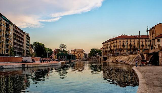 Verão em Milão