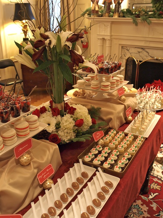 A Party Style Xmas In July Holiday Dessert Table