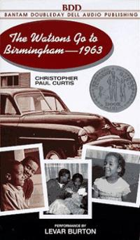 The watsons go to birmingham book cover