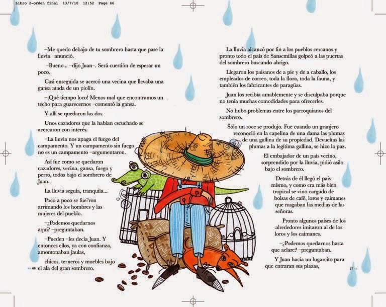 Ilustraciones  El Libro de Lectura del Bicentenario 0016d229d54