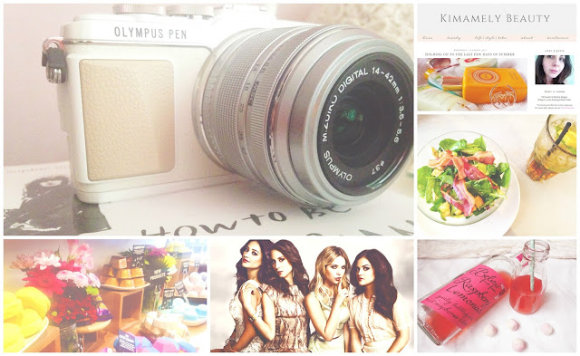 August Lifestyle Favourites Olympus PEN E-PL7
