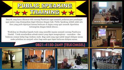Pelatihan Public Speaking Yogyakarta