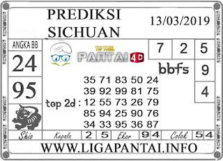 """Prediksi Togel """"SICHUAN"""" PANTAI4D 13 MARET 2019"""
