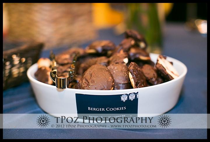 Berger Cookies Wedding Reception