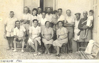The employees and their families in the colony in 1946 by Ashraf Baraka
