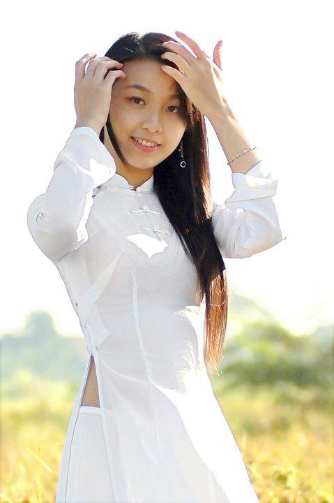 Hot Girls Vietnamese Sexy Ao Dai Viet Nam-6629