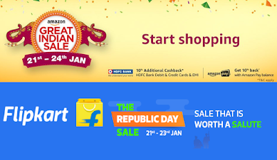Amazon India, Flipkart offer heavy discounts up to 80% in first online sale of 2018 | rajtech.info