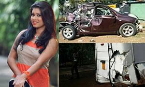 Kavisha Ayeshani Accident In Nugegoda