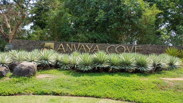 Entrance at Anvaya Cove