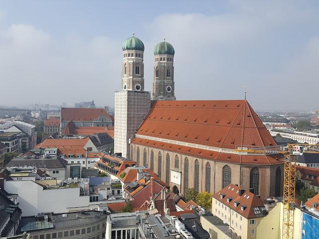 Frauenkirche - Igreja de Nossa Senhora - Munique - Alemanha