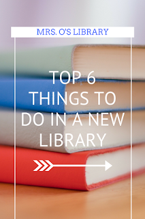 Top 6 things to do in a new school library.