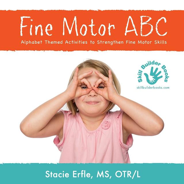 Fine Motor ABC book