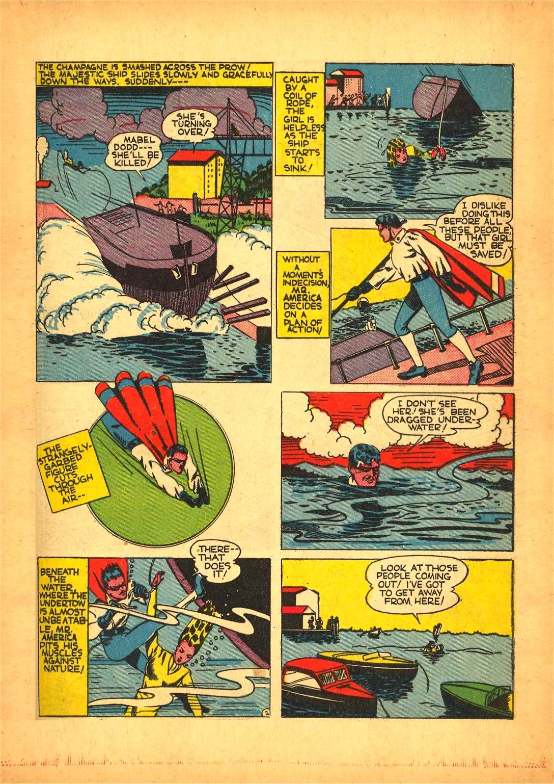 Read online Action Comics (1938) comic -  Issue #50 - 45