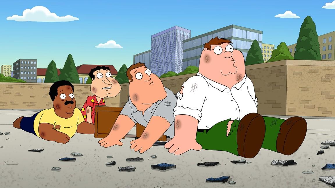 Family Guy - Season 12 Episode 13: 3 Acts of God
