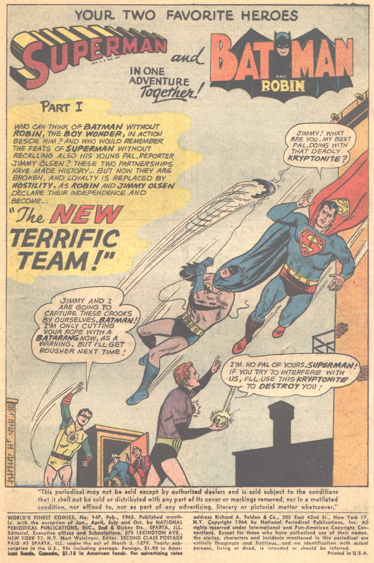Read online World's Finest Comics comic -  Issue #147 - 3