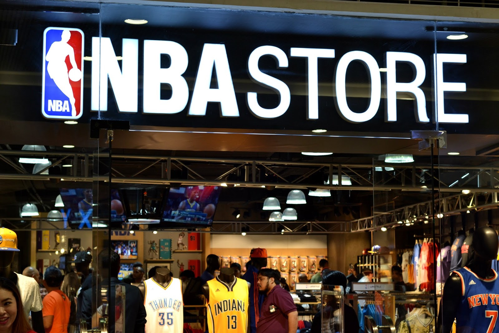 The Style Show  NBA Store Opening in SM Megamall. 149f911f338