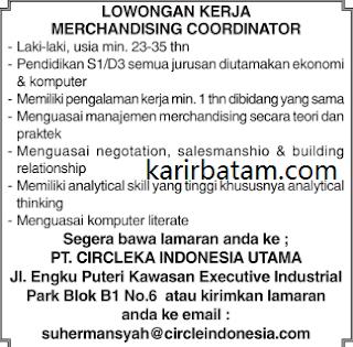 Lowongan Kerja PT. Circleka Indonesia Utama