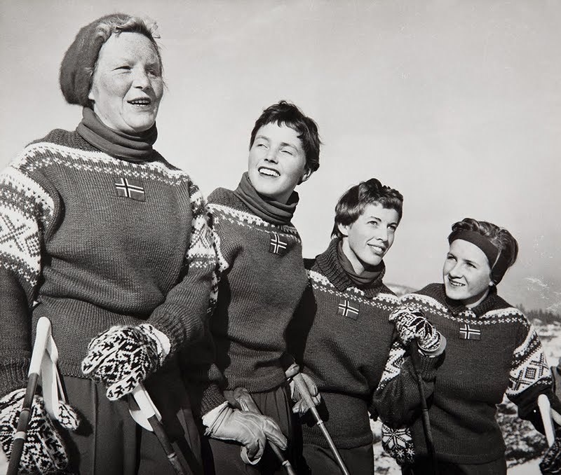 47242a5f Cathrines Kreative Hjørne: Retro strikke oppskrifter: Gamle OL ...