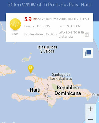 El presidente de Haití Jovenel Moïse instó a la población haitiana a mantener la calma tras el sismo de 5.9