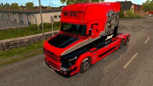 Raven skin for Scania T