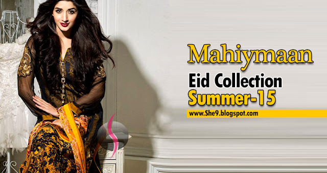 Signature Eid Dress Collection 2015